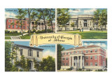 University of Georgia, Athens Art Print