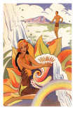 Hawaiian Scene, Graphics Posters
