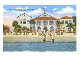 Sea Island-Kasino, Georgia Poster