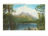 Stanley Lake, Sawtooth Mountains, Idaho Poster
