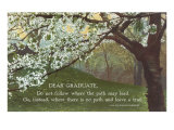 Advice for the Graduate, Cherry Blossoms Prints