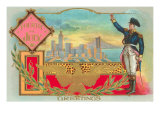 4th of July, George Washington Greeting City Print