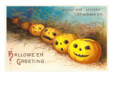 Halloween, Curiouser and Curiouser, Jack O'Lanterns Prints