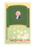 Flag of Washington Prints