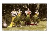 Hula Dancers, Hawaii Posters