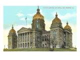 State Capitol, Des Moines, Iowa Prints