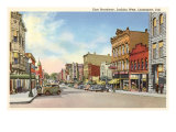 East Broadway, Logansport, Indiana Prints