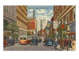 Peachtree Street, Atlanta, Georgia Kunstdruck