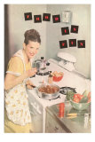 Food is Fun, Cooking on Stove Top Poster