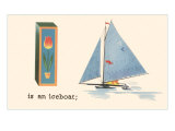 I is an Iceboat Prints
