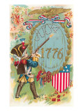4th of July, 1776, Little Soldier Posters