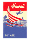 Hawaii by Air, Outrigger Plakat