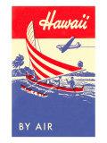 Hawaii by Air, Outrigger Kunstdruck