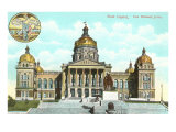 State Capitol, Des Moines, Iowa Posters