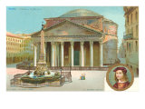 Pantheon, Rome, Italy Poster