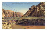 Kaibab Suspension Bridge, Grand Canyon Art