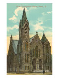 First Congregational Church, Peoria, Illinois Prints
