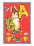 ABC, Rabbit Poster