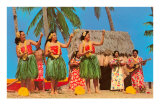 Hula Dancers, Hawaii Posters
