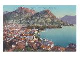 Lake Lugano, Monte Boglia, Monte Bre Prints