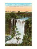 Wailua Falls, Hawaii Poster