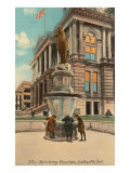 Drinking Fountain, Lafayette, Indiana Prints