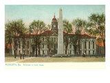 Courthouse, Augusta, Georgia Posters