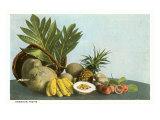 Hawaiian Tropical Fruits Posters