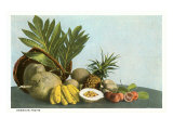 Hawaiian Tropical Fruits Posters
