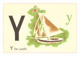 Y is for Yacht Prints