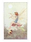 Fairy with Pipes and Insects Prints