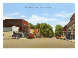 East Market Street, Nappanee, Indiana Posters