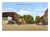 East Market Street, Nappanee, Indiana Posters