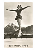 Sun Valley, Idaho, Skater in Air Posters