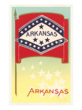 Flag of Arkansas Poster