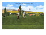 Golf Course, Pocatello, Idaho Poster