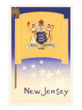 Flag of New Jersey Prints