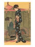 Japanese Woodblock, Geishas Posters
