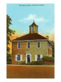 Old State Capitol, Corydon, Indiana Print