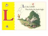 L is for Lamb Print