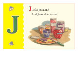 J is for Jellies Poster