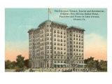Hôtel Georgian Terrace, Atlanta, Géorgie Affiches