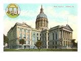 State Capitol, Atlanta, Georgia Posters