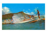 Surf Riders, Hawaii Prints