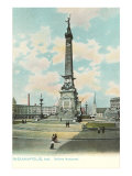 Soldiers Monument, Indianapolis, Indiana Poster