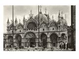 サン・マルコ寺院, ベネチア, イタリア, 写真 高品質プリント