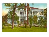 Queen Liliuokalani House, Honolulu, Hawaii Kunstdrucke