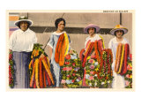Hawaiian Lei Sellers Prints