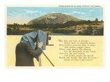 Stone Mountain, Poem, Georgia Print