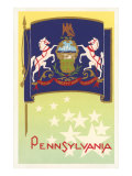 Flag of Pennsylvania Poster